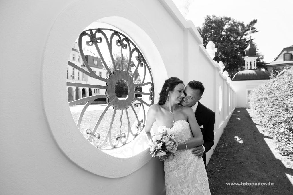 Brautpaarfotos im Gohliser Schlösschen