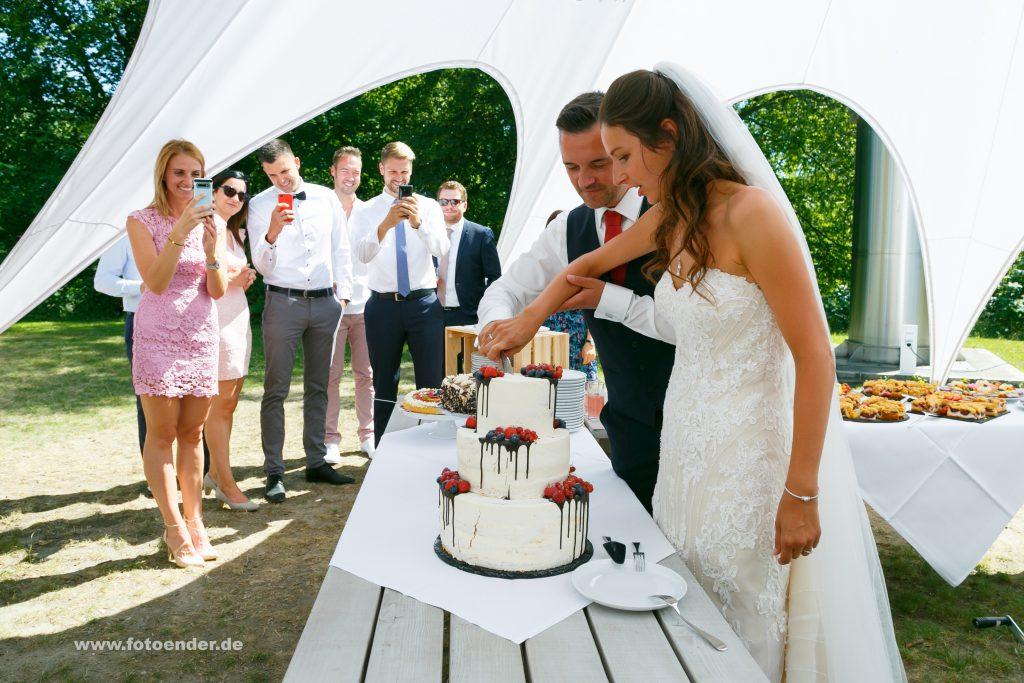 Hochzeitstorte im Herrenhaus Möckern