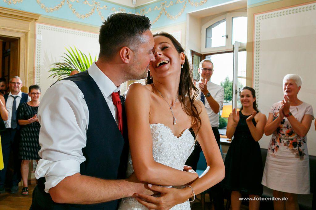 Hochzeitstanz im Herrenhaus Möckern