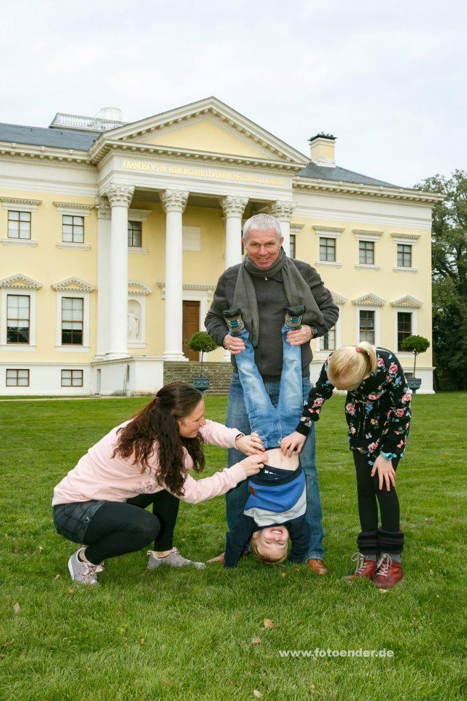 Familienfotos im Wörlitzer Park